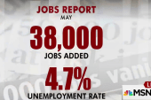 Report: 38,000 jobs created in May