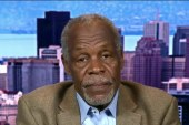 Danny Glover: Sanders on right side of...