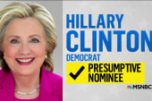 NBC News declares Clinton presumptive nominee