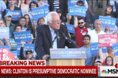Sanders camp pushes back on call for Clinton