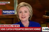 Clinton: Sanders strategy is 'perplexing'