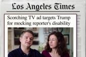 Parents of disabled child blast Trump in ad