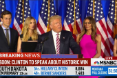 Trump shows restraint in teleprompted speech