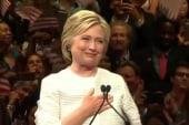 Barnicle: Clinton feels 'finally free'
