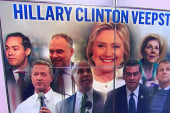 Who will Clinton choose for her running mate?