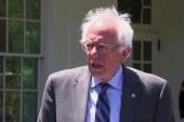 Sanders speaks after White House meeting