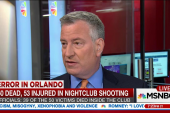 DeBlasio: NYC will see large police presence