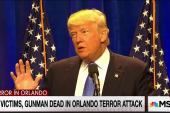 Trump emphasizes Muslim ban after shooting