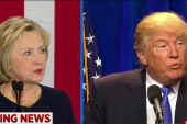 Clinton, Trump trade jabs in dueling speeches