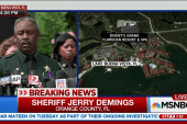 FL sheriff: Remains of child recovered