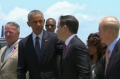 Obama arrives in Orlando