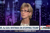 Fmr. NJ Gov. Whitman is #nevertrump