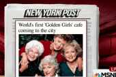 'Golden Girls' cafe to open in NYC