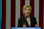 Clinton: US 'doesn't do business Trump's way'