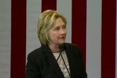 Clinton slams Trump on business record, debt