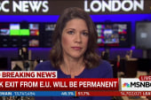 British media project Brexit vote succeeds