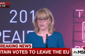 Official: 'U.K. has voted to leave the...