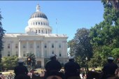 Multiple stabbings outside CA State Capitol