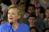 Clinton: Trump not in it for American people