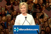 Hillary Clinton Tells Crowd 'We've Reached...