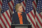 Clinton: Trump not fit for Situation Room