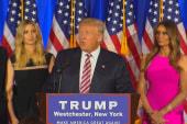 Trump Celebrates on Primary Night, Says He...