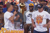 Cavs celebrate championship in Cleveland