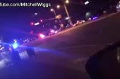 Video shows scenes from shooting at...
