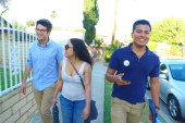 Meet the Bernie canvassers of East LA