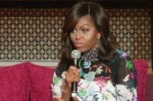 Michelle Obama promotes girls' education