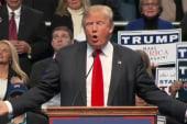 Theatrics Frame Trump's VP Hunt