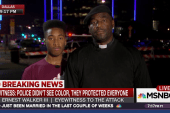Father and son: Eyewitnesses to Dallas attack