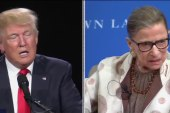 The Ws: Trump v. Ginsburg