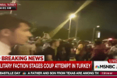 Coup attempt by Turkish military faction