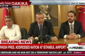 Turkish President Erdoğan slams coup leaders