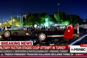 Explosions heard in Turkish capital