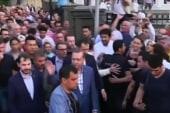 Turkish public rally around president