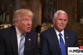 Trump: 'Don't care' Pence voted for Iraq war