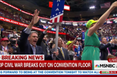 Civil war breaks out at the RNC