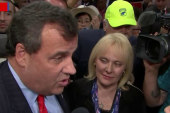 Christie: 'No one is owed the vice...