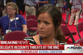 Utah delegate threatened by Trump supporters
