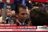 Donald Trump Jr. calls nomination moment ...