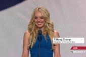 Tiffany Trump addresses RNC