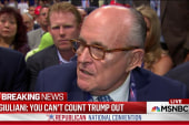 Giuliani: You can't count Trump out
