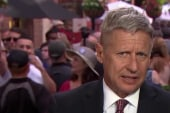 Gary Johnson on state of the 2016 race