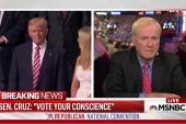 Matthews on Cruz speech: 'Bad behavior'