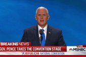 Pence:  Clinton 'secretary of status quo'