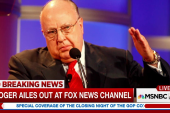 Roger Ailes out at Fox News