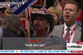 Clinton camp responds to 'lock her up'