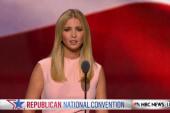 Ivanka Trump touts diversity on dad's staff